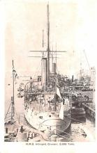 mil052346 - Military Battleship Postcard, Old Vintage Antique Military Ship Post Card