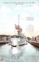 mil052347 - Military Battleship Postcard, Old Vintage Antique Military Ship Post Card