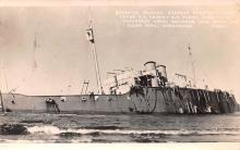 mil052348 - Military Battleship Postcard, Old Vintage Antique Military Ship Post Card