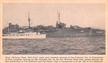 mil052351 - Military Battleship Postcard, Old Vintage Antique Military Ship Post Card