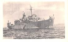 mil052352 - Military Battleship Postcard, Old Vintage Antique Military Ship Post Card