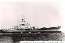 mil052369 - Military Battleship Postcard, Old Vintage Antique Military Ship Post Card
