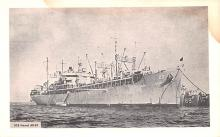 mil052370 - Military Battleship Postcard, Old Vintage Antique Military Ship Post Card