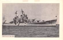 mil052371 - Military Battleship Postcard, Old Vintage Antique Military Ship Post Card