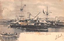 mil052377 - Military Battleship Postcard, Old Vintage Antique Military Ship Post Card