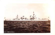mil052380 - Military Battleship Postcard, Old Vintage Antique Military Ship Post Card