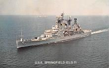 mil052384 - Military Battleship Postcard, Old Vintage Antique Military Ship Post Card