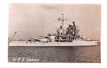 mil052394 - Military Battleship Postcard, Old Vintage Antique Military Ship Post Card