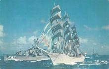 mil052398 - Military Battleship Postcard, Old Vintage Antique Military Ship Post Card