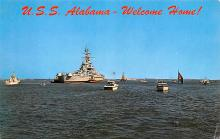 mil052419 - Military Battleship Postcard, Old Vintage Antique Military Ship Post Card