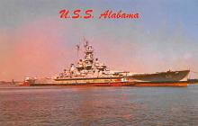 mil052426 - Military Battleship Postcard, Old Vintage Antique Military Ship Post Card