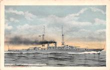mil052427 - Military Battleship Postcard, Old Vintage Antique Military Ship Post Card