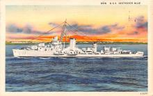 mil052444 - Military Battleship Postcard, Old Vintage Antique Military Ship Post Card