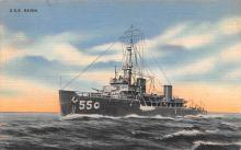 mil052450 - Military Battleship Postcard, Old Vintage Antique Military Ship Post Card