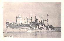 mil052454 - Military Battleship Postcard, Old Vintage Antique Military Ship Post Card