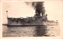 mil052463 - Military Battleship Postcard, Old Vintage Antique Military Ship Post Card