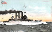 mil052468 - Military Battleship Postcard, Old Vintage Antique Military Ship Post Card