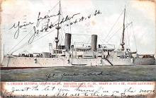 mil052471 - Military Battleship Postcard, Old Vintage Antique Military Ship Post Card