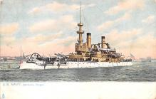 mil052472 - Military Battleship Postcard, Old Vintage Antique Military Ship Post Card
