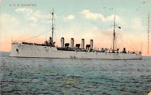 mil052476 - Military Battleship Postcard, Old Vintage Antique Military Ship Post Card