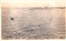 mil052479 - Military Battleship Postcard, Old Vintage Antique Military Ship Post Card