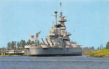mil052484 - Military Battleship Postcard, Old Vintage Antique Military Ship Post Card