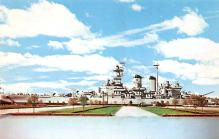 mil052485 - Military Battleship Postcard, Old Vintage Antique Military Ship Post Card