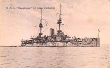 mil052493 - Military Battleship Postcard, Old Vintage Antique Military Ship Post Card