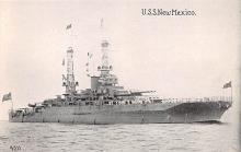 mil052498 - Military Battleship Postcard, Old Vintage Antique Military Ship Post Card