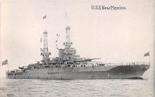 mil052500 - Military Battleship Postcard, Old Vintage Antique Military Ship Post Card
