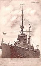 mil052503 - Military Battleship Postcard, Old Vintage Antique Military Ship Post Card
