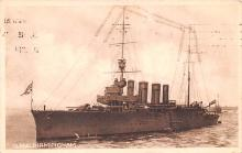 mil052509 - Military Battleship Postcard, Old Vintage Antique Military Ship Post Card