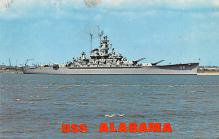 mil052513 - Military Battleship Postcard, Old Vintage Antique Military Ship Post Card