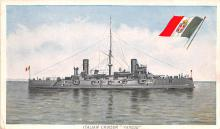 mil052516 - Military Battleship Postcard, Old Vintage Antique Military Ship Post Card