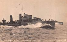 mil052522 - Military Battleship Postcard, Old Vintage Antique Military Ship Post Card
