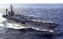 mil100010 - U.S.S. America  Military Aircraft Carrier