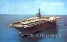 mil100043 - U.S.S. America  Military Aircraft Carrier