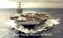 mil100063 - U.S.S. Theodore Roosevelt  Military Aircraft Carrier