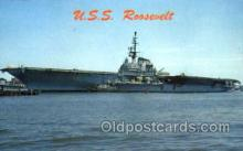 mil100076 - U.S.S. Roosevelt  Military Aircraft Carrier