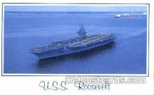 mil100083 - U.S.S. Theodore Roosevelt  Military Aircraft Carrier