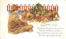 mil201018 - Military Comic Postcard, Old Vintage Antique Post Card