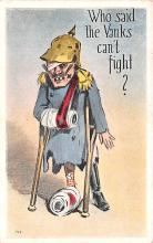 mil201044 - Military Comic Postcard, Old Vintage Antique Post Card