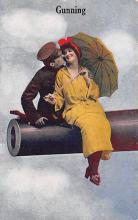 mil201052 - Military Comic Postcard, Old Vintage Antique Post Card