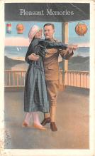 mil201072 - Military Comic Postcard, Old Vintage Antique Post Card