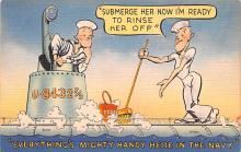 mil201077 - Military Comic Postcard, Old Vintage Antique Post Card