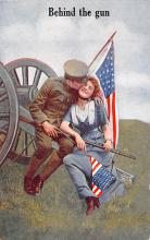 mil201092 - Military Comic Postcard, Old Vintage Antique Post Card