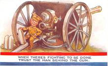 mil201093 - Military Comic Postcard, Old Vintage Antique Post Card