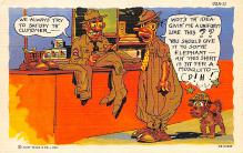 mil201230 - Military Comic Postcard, Old Vintage Antique Post Card