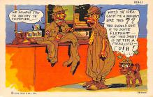mil201232 - Military Comic Postcard, Old Vintage Antique Post Card