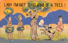 mil201319 - Military Comic Postcard, Old Vintage Antique Post Card
